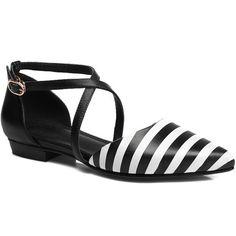 striped flats| $36.87  nu goth pastel goth grunge punk lolita fachin flats shoes free shipping rosegal