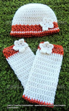 PDF Crochet Pattern Miss Mary Hat & Leg Warmer set with flowers Baby Child Adult sizes. Crochet Leg Warmers, Crochet Boot Cuffs, Baby Leg Warmers, Crochet Mittens, Wrist Warmers, Crochet Slippers, Crochet Stitches, Crochet Kids Scarf, Crochet Cap