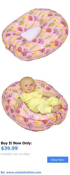Baby Safety Sleep Positioners: Leachco Podster Sling-Style Baby Lounger In Pink Forest Frolics BUY IT NOW ONLY: $39.99 #ustylefashionBabySafetySleepPositioners OR #ustylefashion