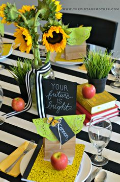 BACK TO SCHOOL Dinner Tradition