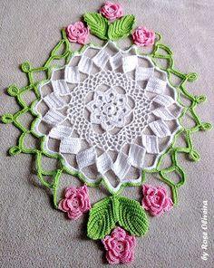 Tecendo Artes em Crochet: Centros de mesa