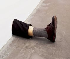 Robert Gober Untitled Leg 1989 - Mike Kelley: The Uncanny, Tate Liverpool: Exhibition 20 February – 3 May 2004