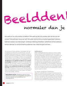 ISSUU - Beelddenken: normaler dan je denkt! by Tijdschrift Educare