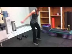 Figure Competitor Metabolic Physique Conditioning Leg Worko
