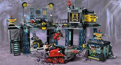 "Lego Super Heroes playset 6860 ""The Batcave."" <3"