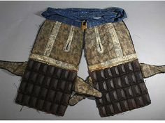 Fine Samurai Armor Haidate Mid Late Edo Period 18 19th C