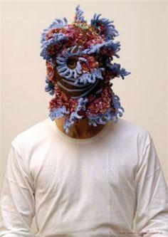 Aldo Lanzini's knit mask