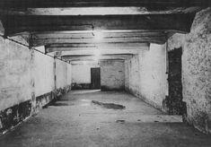 Zyklon B-gas. Met zyklon B-gas werden joden in concentratiekampen vergast. De joden zelf dachten dat ze met z'n allen gingen douchen. Dit werd gezegd zodat de joden geen idee en er dus ook niets van zeiden. Wij hebben voor deze afbeelding gekozen omdat dit 1 van de gaskamers was in een concentratie kamp.