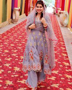 Designer Punjabi Suits Patiala, Salwar Suits, Indian Suits, Indian Wear, Embroidery Suits, Embroidery Patterns, Marriage Suits, Punjabi Suit Boutique, Designer Dresses