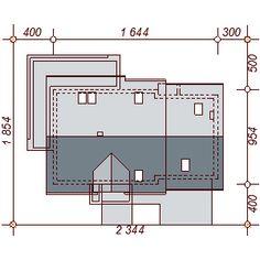 Sytuacja DN KENDRA 2M CE Malm, Floor Plans, Houses