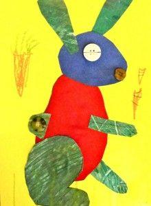 Paper Bunny Art Lesson