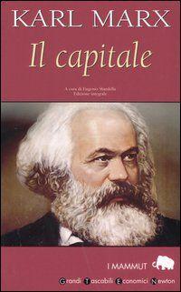 """Copertina de """"Il Capitale"""", l'opera più importante di Karl Marx"""