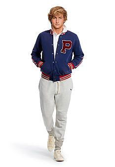 Men's Fleece Baseball Jacket | Men's Style | Pinterest | Products ...