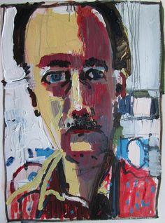 "urgetocreate: "" Harry Stooshinoff, Self Portrait """