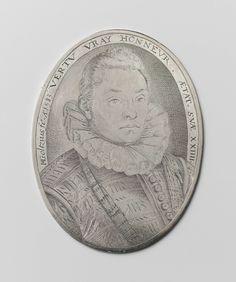 Portrait of a 24-year-old Man, Hendrick Goltzius, 1583
