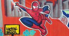 Spiderman in Hackenbroich, Foto: S. Hopp