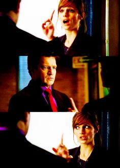 Beckett was so gorgeous in this episode