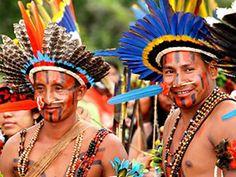índios de Mato Grosso (Foto: Edson Rodrigues/Secom-MT)