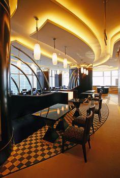 Gran Melia Shanghai Hotel, interior design by GDG Architecture Planning and Interior Design