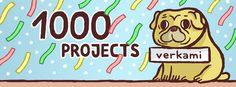 1.000 PROJECTS - Truchi & Verkami by Néstor F. / #crowdfunding #verkami