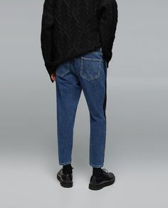 JEANS WITH SIDE STRIPE DETAIL-NEW IN-MAN | ZARA United States
