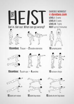 The Heist - Darebee Workout