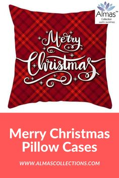 ONLY $14.99 + FREE SHIPPING  Are you looking for the perfect Christmas decor then you really need these amazingSanta Claus, Reindeer and Xmas pillowcases. It is the perfect decor to make your home feel like Christmas. With 44 amazing pillowcase designs to choose from.  The perfect gift this season. 44 amazing pillowcase designs to choose from. Buy 4 save $20 use promo code: XMAS4  #merrychristmas #homedecor #usa #uk #canada #europe #beligum #switerland #german #christmascushions… Christmas Cushions, Christmas Pillow, Christmas Home, Merry Christmas, Christmas Gifts, Christmas Decorations, Xmas, Christmas Living Rooms, Dinner Sets
