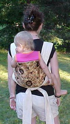 DIY Mei Tai carrier (best instructions I have found)