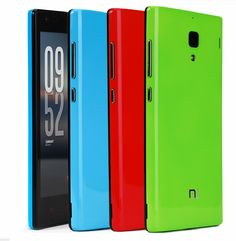 For Xiaomi Redmi 1 Full Protection Back Cover Housing Case Hard PC battery Cover For Redmi 1S Red Rice