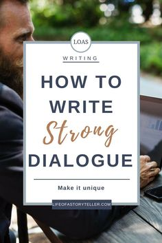 I like this Pin because it gives great tips on writing dialogue for your novel. #mco435