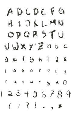 Sawage Free Font Letters #freefonts #freebies #boldfonts #headingfonts #freshfonts #bigfonts