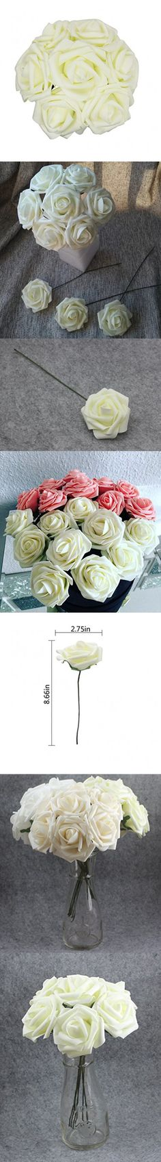 3 Heads Latex Rose Small Buds Artificial Flowers Real Touch Rose Flowers Home Decorations For Wedding Party Or Birthday Always Buy Good Other Mobility & Disability Clothing, Shoes & Accessories