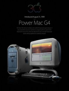My fourth Mac: an Apple PowerMac dual processors, bought March 2001 just in time for the release of MacOS X. Apple Watch, Apple Tv, Apple Ipad, Power Mac G4, Steve Jobs Apple, Laptop Computers, Apple Computers, Computer Laptop, Programa Musical