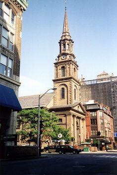 Boston - Back Bay: New Old South Church