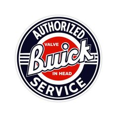 Vintage Cars Muscle Buick Service Round Tin Sign Nostalgic Metal Sign Retro Home Garage Decor - Car Signs, Garage Signs, Garage Art, Garage Shop, Garage Interior, Car Garage, Retro Vintage, Vintage Style, Vintage Auto