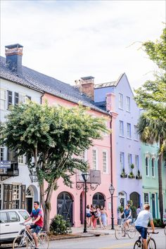 Charleston vacation tips. What to see in Charleston. Charleston photos. Rainbow Row. Sullivan's Island.