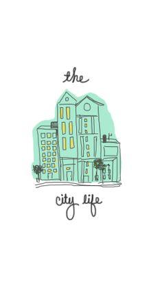 #citylife #illustration  #design #iphone #lovenohs