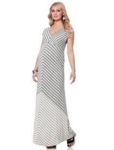 Motherhood Maternity: Jessica Simpson Short Sleeve Lightweight Maternity Maxi Dress Motherhood Maternity. $69.00