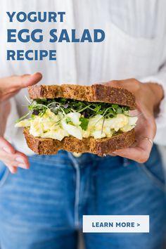 Yogurt Recipes, Egg Recipes, Brunch Recipes, Mexican Food Recipes, Salad Recipes, Vegetarian Recipes, Cooking Recipes, Healthy Recipes, Healthy Cooking