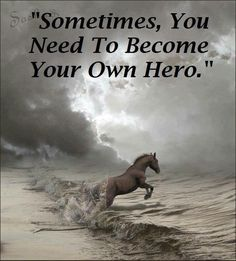 you're own hero
