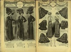 Au Bon Marche 1911 Catalogue