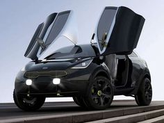 The Kia Niro Concept is Designed to Battle the Nissan Juke #Cars #Automobiles