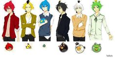 Angry Birds Anime Version