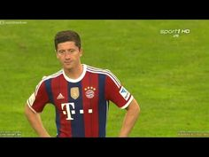Robert Lewandowski Debut vs MSV Duisburg • Individual Highlights HD 720p...