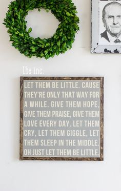 Let Them Be Little by littlebitseverything on Etsy