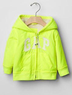 Cozy logo zip hoodie | Gap