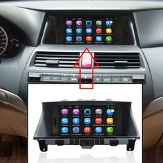 8 inch Car GPS Navigation for Honda Accord (2008-2012) Car Radio Video Player Support WiFi Intelligent mobile phone Mirror-link //Price: $320.00//     #shop