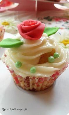 """ Que no te falte un perejil "": Cups Cakes para San Valentín"