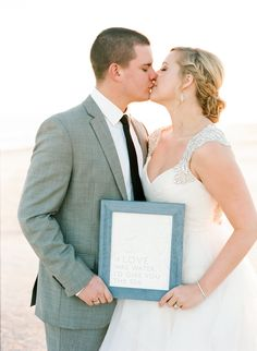 """If Love was water, I'd give you the sea"" - Custom Wedding Art Print by Greatest Story Weddings 