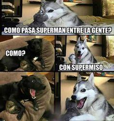 ¿Cómo pasa Superman entre la gente